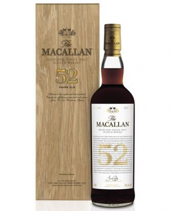Nova garrafa de The Macallan custará cerca de US$ 53,5 mil