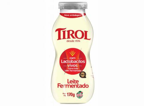 Lacticínios Tirol lança Leite Fermentado em embalagem de 170g