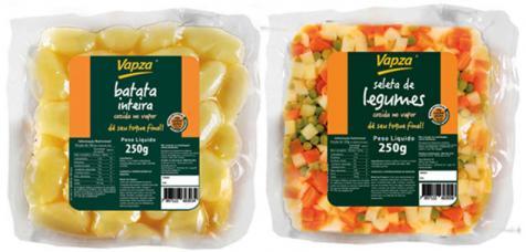 Vapza lança linha Single em embalagens de 250g