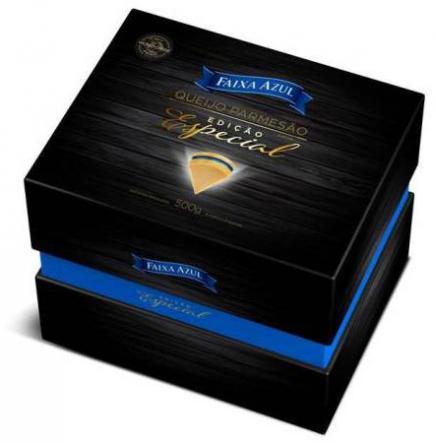 Vigor lança edição presenteável do Queijo Parmesão Faixa Azul