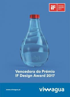 Garrafa inspirada em gota é vencedora do iF Design Award 2017