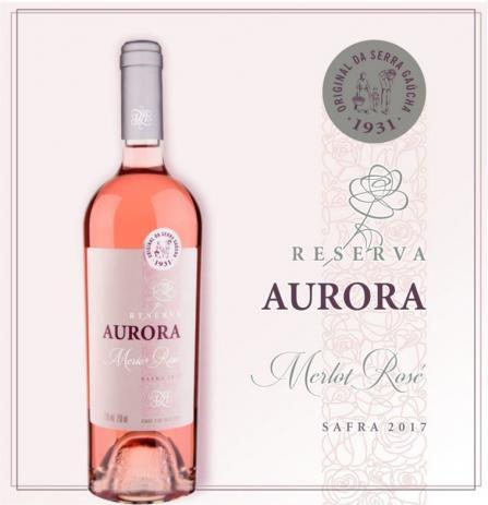 Jovial e intenso, Aurora Reserva Rosé chega brindando a Primavera