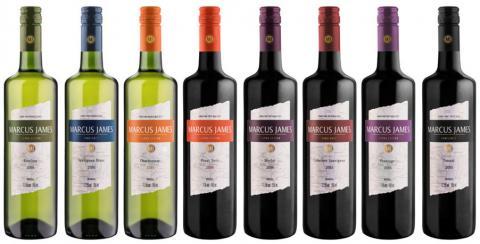 Aurora apresenta na APAS vinhos Marcus James em exclusivas garrafas