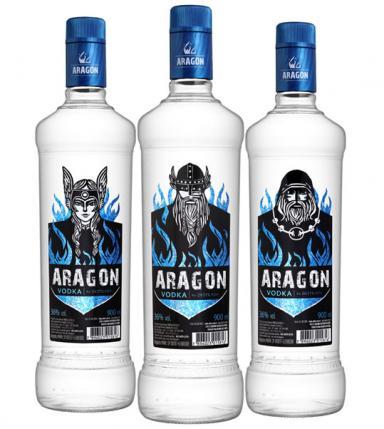 Salton lança Vodka Aragon envasada em garrafa da Verallia