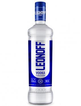 Vodka Leonoff apresenta nova embalagem