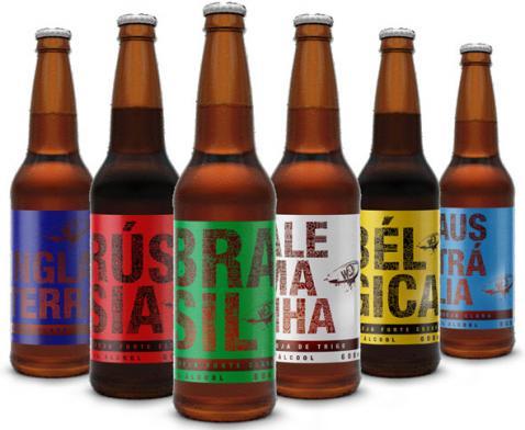 Way Beer lança linha de cervejas para celebrar a Copa do Mundo