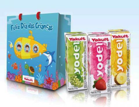 Campanha da Yakult para o Dia das Crianças destaca o Yodel