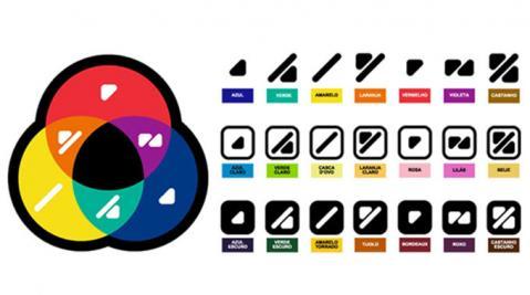 ZIPPY traz código ColorAdd nas etiquetas de suas peças como auxílio a daltônicos