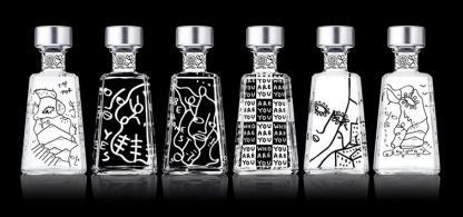 1800 Tequila apresenta série de garrafas assinadas por Shantell Martin