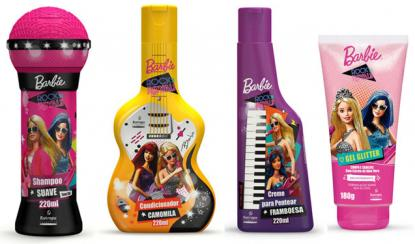 Linha Barbie Rock'n Royals by Biotropic aposta em embalagens exclusivas