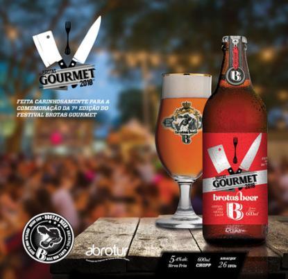 Brotas Gourmet terá Brotas Beer rótulo edição limitada
