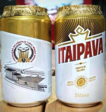 Cerveja Itaipava produzida Uberaba terá imagem da fábrica