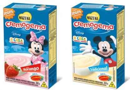 Cremogema lança embalagem com personagens da Disney