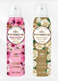 Francis cria nova embalagem