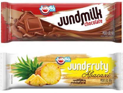 Jund Milk e Jund Fruty estão com nova embalagem