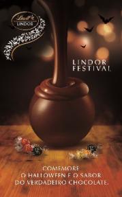 Lindt oferece 30% desconto no Lindor Festival e lança embalagem de Halloween