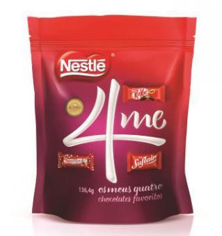 Nestlé lança embalagem especial com os chocolates favoritos do consumidor